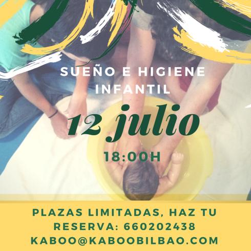 12 julio SUEÑO E HIGIENE INFANTIL kaboo