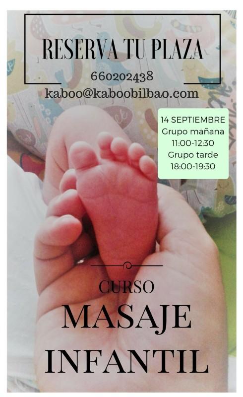 MASAJE INFANTIL Septiembre