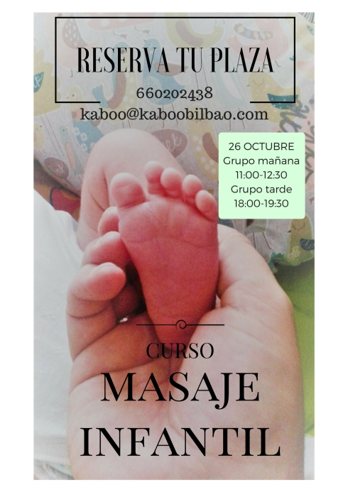 MASAJE INFANTIL urria