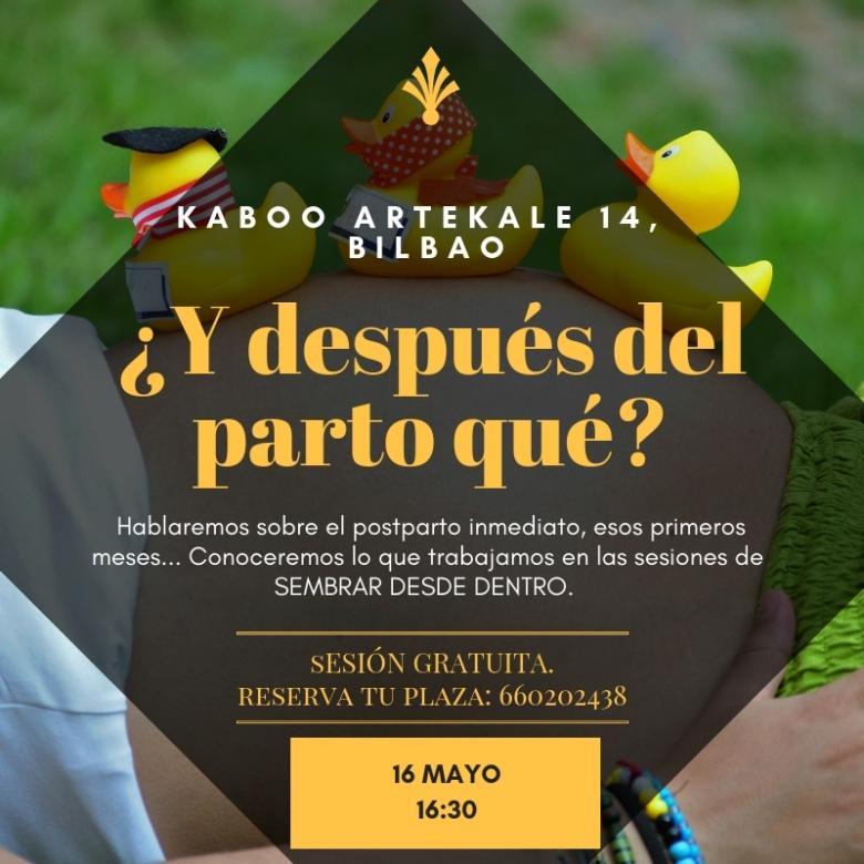 KABOO DESPUES DEL PARTO QUE16mayo