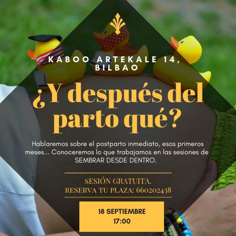 KABOO DESPUES DEL PARTO QUE 18SEP